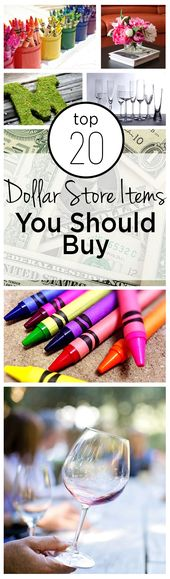 Top 20 Dollar Store Items You Should Buy