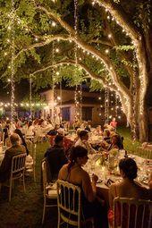 Hochzeitslichter: gute Ideen, um den Ort einzurich…