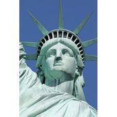 Clicart 'Freiheitsstatue 3' Druck auf eingewickelter Leinwand – Products