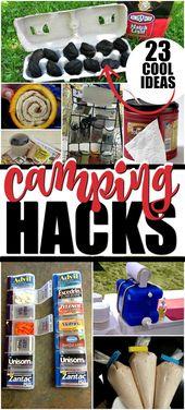 Camping Hacks, Tricks and Tips
