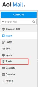 Recover Permanently Deleted Emails From Aol With Images Aol