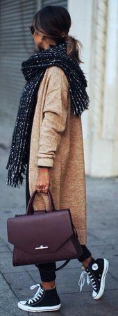 21 Wunderschöne Schal-Outfits für den Herbst – Seite 18 von 21 – pintrend