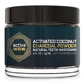 Active Wow Teeth Whitening – Charcoal Powder Natural Teeth Whitening