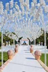 25 ideas for creative wedding decoration