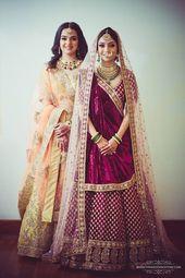 15 Stunning Indian Wedding Dresses for Bride's Sister!