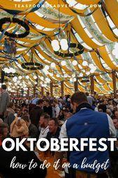 9 Tipps für das Oktoberfest mit kleinem Budget – #Budget #das #fuer #kleinem #M…