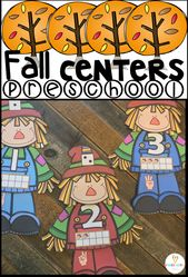 20 Amazing Fall Preschool Centers ~Hands-On Activities for Young Learners – Fall Activities
