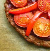 meatza! #paleo Fleischpizza ohne Korpus :)