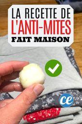 La receta natural y fácil de hacer a prueba de polillas para la ropa …