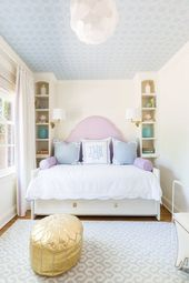14 Girls Room Decor Ideas – Fun and Cute Style   – Girl Bedroom Design
