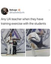 """My Hero Academia on Instagram: """"Who's your favorite UA instructor?🤣"""""""