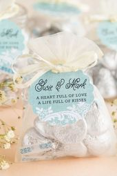 Life Filled with Kisses Favors