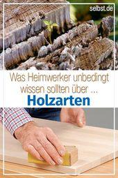 Holzarten| selbst.de
