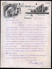 Russel Boynton  Co Railway Supplies Minneapolis Mn  Vintage
