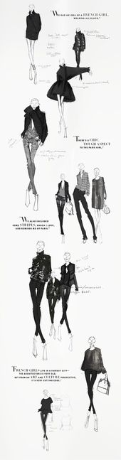 Beautiful sketches from the Joe Fresh sketchbook – Winter 2013. JOEFRESH.COM – Tap the link to shop on our official online store! You can also join ou…