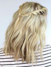 Gedrehte Zöpfe | Stilvolle Schulanfangsfrisuren für kurzes Haar – Short hairstyles