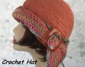 Womens Summer Crochet Beach Hat Pattern Wide Brim With Shell Stitch Band Instant Download Easy To Make May Sell Finished – шапки схемы