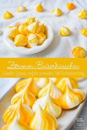 Recipe: Lemon meringue or lemon meringue – gernekochen.de
