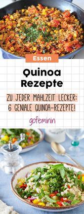 ¡Aquí con el grano milagroso! Las 5 mejores recetas de quinua para cada día   – Einfache Rezepte // blitzschnell gemacht