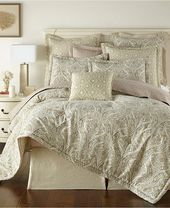 Austin Horn Classics Thread and Weave Aberdeen 3-Piece Comforter Set Bedding