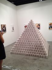 The 10 Biggest Trends In The Art World Right Now Paper Tower Art Basel Geometric Shapes