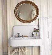 Trendy Farmhouse Bathroom Sink Vintage Bath Ideas