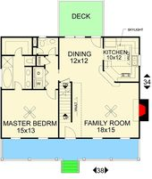Plan 2012GA: Classic Country House Plan   – house plans