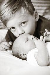 Calvin's Newborn Family Photos