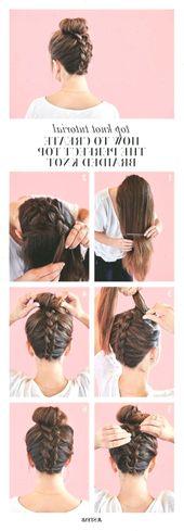37 Easy Hairstyles Step by Step DIY – Yasmina Dhrolia – #Dhrolia #DIY #Easy #hai – Suzy's Fashion #frisuren