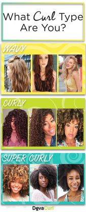 Exploring the curl spectrum - wavy, curly and super curly. #CurlyHairstylesTrends