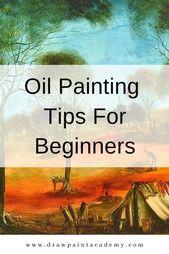 Ölgemälde-Tipps für Anfänger