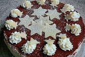 Weihnachtliche Kirsch – Mascarpone – Torte