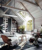 60 coole attische Schlafzimmer-Ideen – aufgestiegene schlafende Viertel