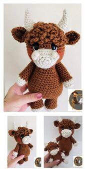 Amigurumi Little Cute Cow Free Pattern – Amigurumi Free Patterns And Tutorials