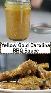 Yellow Gold Carolina BBQ Sauce