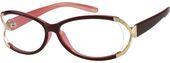 Purple Oval Glasses #221217   Zenni Optical Eyeglasses – Things I love