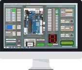 Arduino Simulator Drag & Draw
