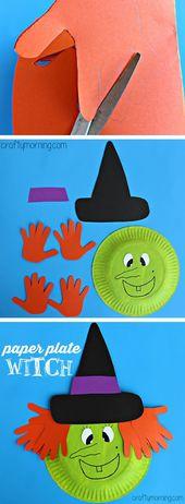 37+ creatieve Halloween-knutselideeën voor kinderen en peuters (GRATIS)