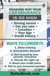 This Is Why Your Car Insurance Is So High Plus 6 Ways To Lower It