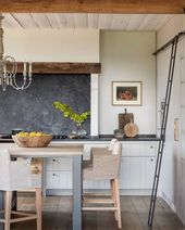 This kitchen design has so much character. We're l…