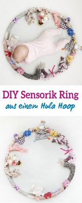 Sensory Hula Hoop for the Baby – Employment, Learning and Playing in One