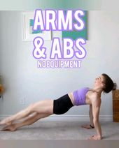Arms & Abs No Equipment at Home Workout!
