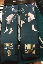 Nwt Philadelphia Eagles Super Bowl Lii 52 Philly Special Socks Nick Foles Philadelphia Eagles Super Bowl Philadelphia Eagles Special Socks