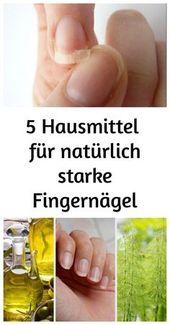 Nicht jeder nat natürlich starke Fingernägel doch die richtige Pflege kann dir…