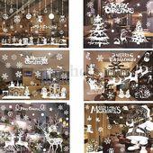 Photo of Abnehmbare Santa Claus Fenstertür Wandaufkleber Vinyl Decal Art Xmas Home Decor