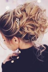 50+ Sommerhochzeitsfrisuren für mittellange Haare, # Frisuren # für #Haar #Hochzeit #Medizin ...