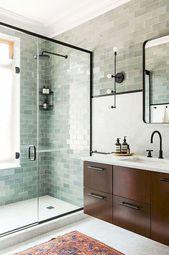 70 bonnes idées de décoration de salle de bains