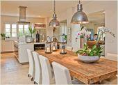 Viele Menschen bevorzugen heutzutage offene Küchen und …
