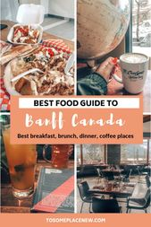 Final Information to Greatest Locations to Eat in Banff with MAP