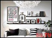 Mit Bilderrahmen dekorieren: Ideen und Tipps, #Bilderrahmen #bilderrahmenwanddeko #Dekoriere…